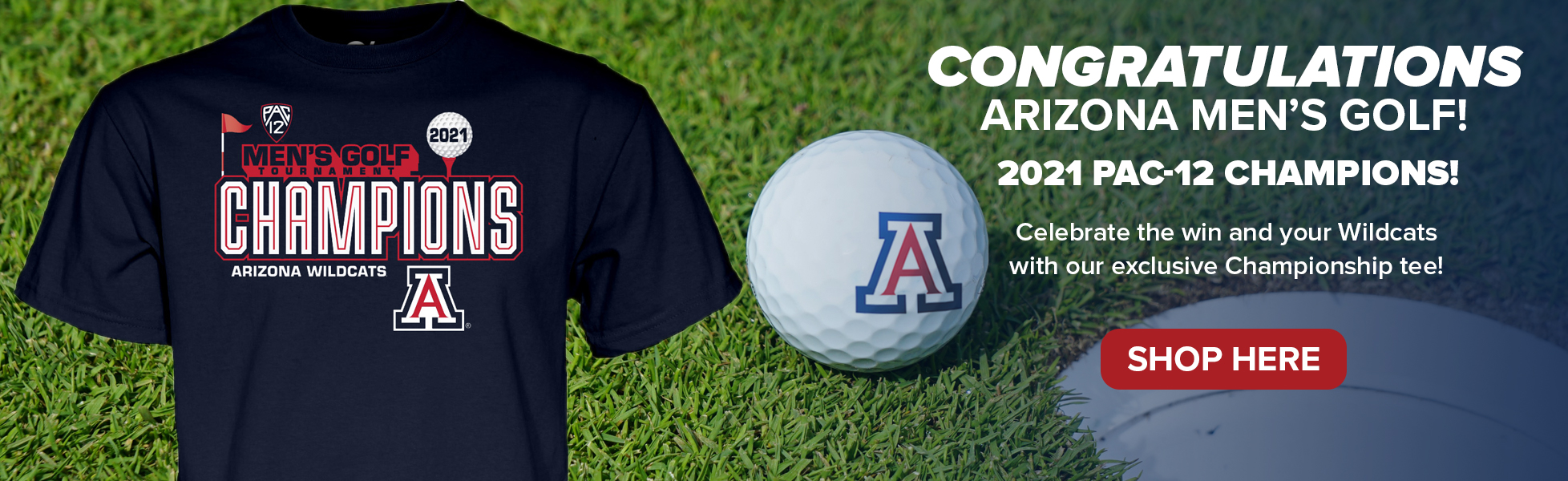 Men's Golf team are Pac12 Champs