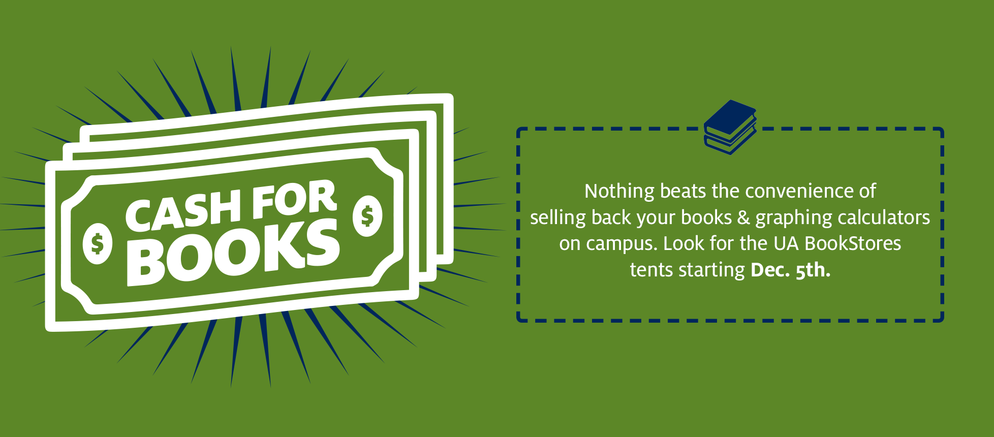 Cash For Books Starting Dec. 5th