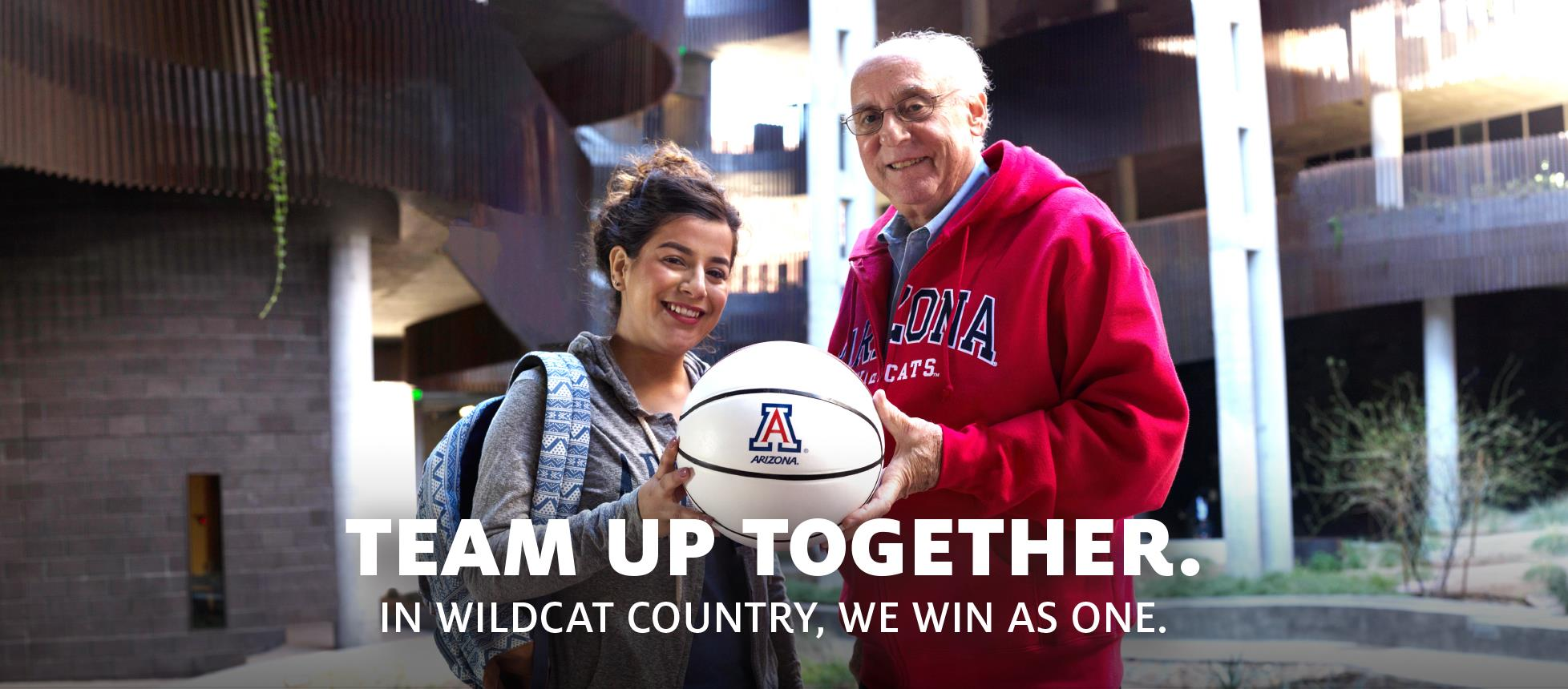 Team up together. In Wildcat country, we win as one. »
