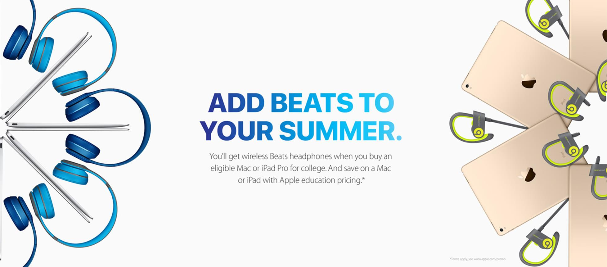 ADD BEATS TO YOUR SUMMER.