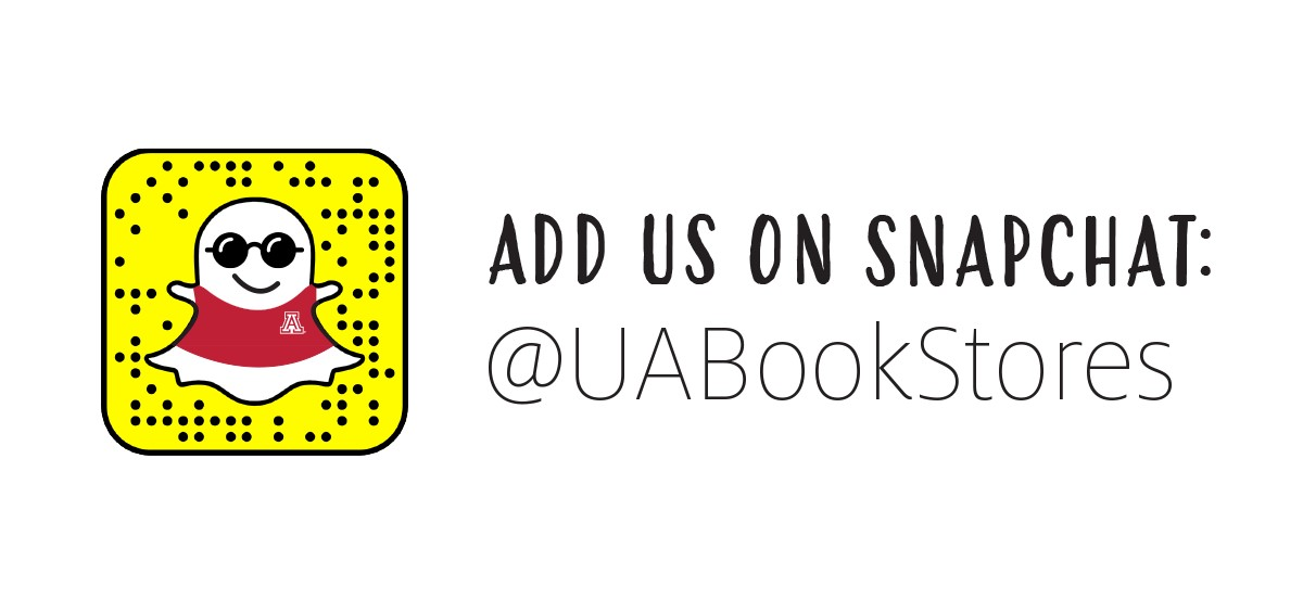 Add us on Snapchat: @UABookStores